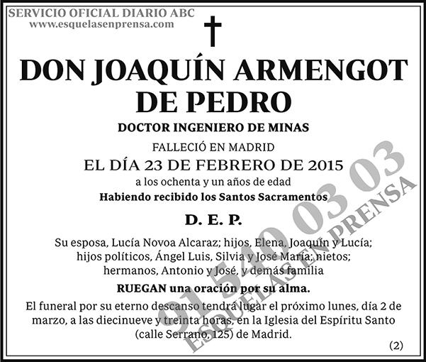 Joaquín Armengot de Pedro